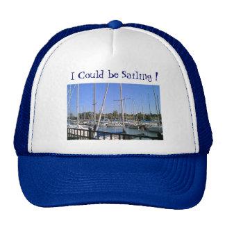 """Chapeau """"que je pourrais naviguer """" casquette"""