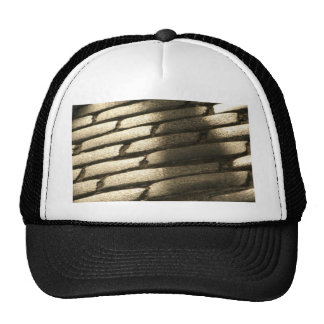 Chapeau rapetassé de rue casquette