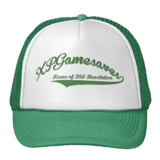 Chapeau vert de XPGamesaves des textes Casquettes