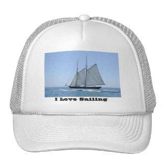 Chapeau vintage de bateau à voile casquette de camionneur