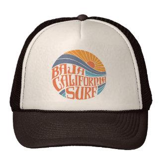Chapeau vintage de camionneur de surf californien casquettes