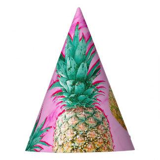 Chapeaux De Fètes Ananas tropicaux d'amusement et partie chic de