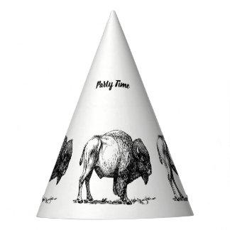 Chapeaux De Fètes Bison américain de Buffalo