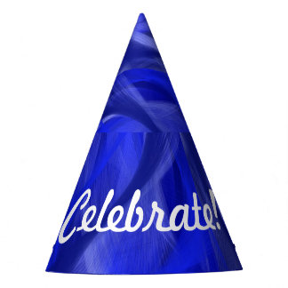 Chapeaux De Fètes Casquette bleu de partie de remous
