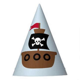 Chapeaux De Fètes Casquette de partie avec le bateau de pirate