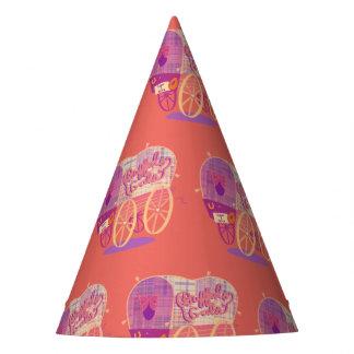 Chapeaux De Fètes Casquette de partie de chariot de gallons de