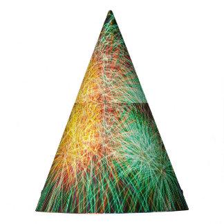 Chapeaux De Fètes Casquette lumineux de partie de feux d'artifice de