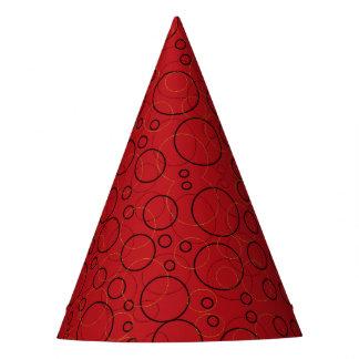 Chapeaux De Fètes casquette rouge de partie de cercles