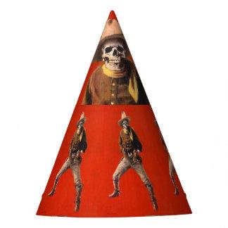 Chapeaux De Fètes Casquette squelettique vintage de partie de cowboy