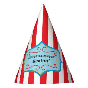 Chapeaux De Fètes Casquette vintage personnalisé de partie de cirqu