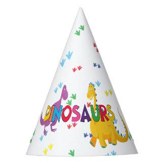 Chapeaux De Fètes Casquettes de fête d'anniversaire de dinosaure