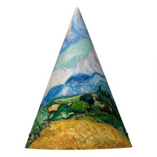 Chapeaux De Fètes Champ de blé avec des cyprès par Vincent van Gogh