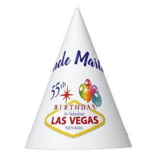 Chapeaux De Fètes Cinquante-cinquième casquette personnalisé de fête