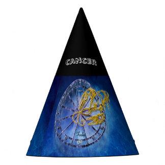 Chapeaux De Fètes Conception d'astrologie de zodiaque de Cancer
