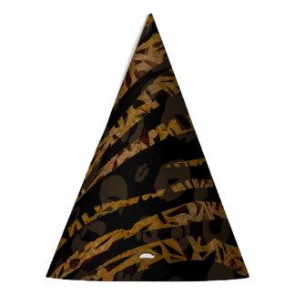 Chapeaux De Fètes Copie fascinante de jungle de safari élégant chic