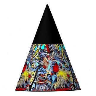 Chapeaux De Fètes Coup-de-pied de couleur - paresse II