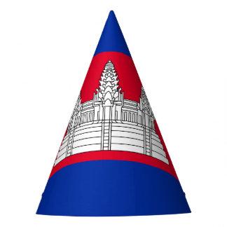 Chapeaux De Fètes Drapeau du Cambodge