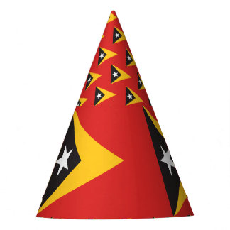 Chapeaux De Fètes Drapeau du Timor oriental