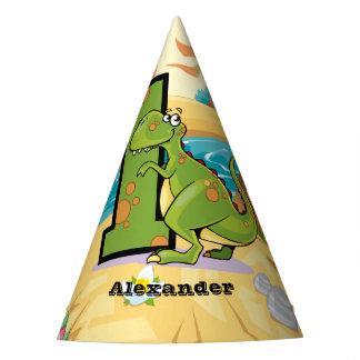 Chapeaux De Fètes ęr Dinosaure d'anniversaire