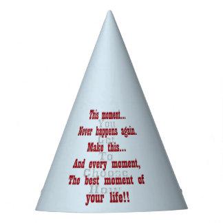 Chapeaux De Fètes Faites à ce moment le meilleur moment de votre vie
