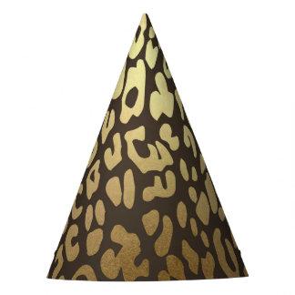 Chapeaux De Fètes Fête d'anniversaire sauvage de jungle d'impression