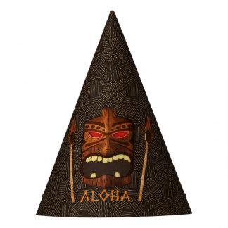 Chapeaux De Fètes Fête d'anniversaire vintage de masque en bois de