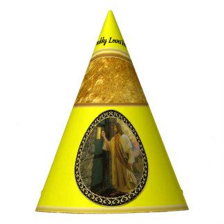 Chapeaux De Fètes Jésus à votre feuille d'or de porte avec la