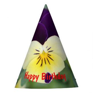 Chapeaux De Fètes Joyeux anniversaire de pensée