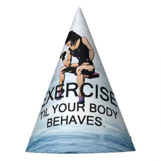 Chapeaux De Fètes L'exercice SUPÉRIEUR jusqu'au corps se comporte