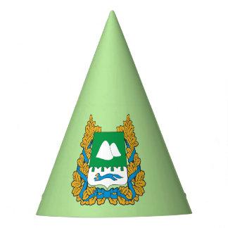 Chapeaux De Fètes Manteau des bras de l'oblast de Kurgan