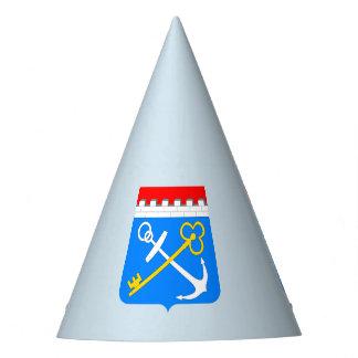 Chapeaux De Fètes Manteau des bras de l'oblast de Léningrad