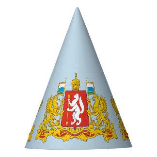 Chapeaux De Fètes Manteau des bras de l'oblast de Sverdlovsk