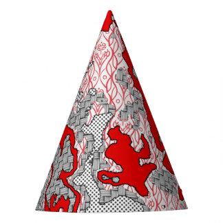 Chapeaux De Fètes Mélange abstrait unique 2A de motif
