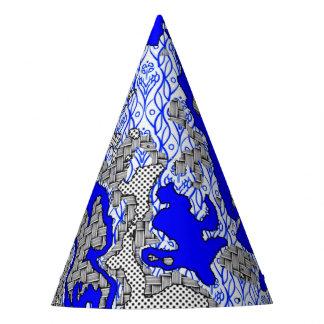 Chapeaux De Fètes Mélange abstrait unique 2B de motif