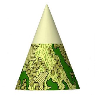 Chapeaux De Fètes Mélange abstrait unique 2C de motif