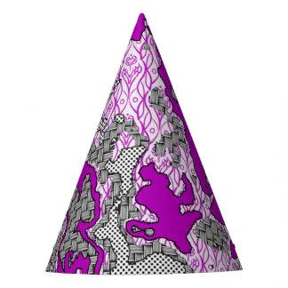 Chapeaux De Fètes Mélange abstrait unique 2D de motif
