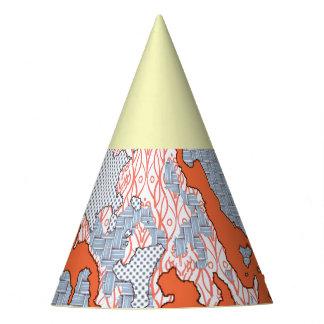 Chapeaux De Fètes Mélange abstrait unique 2E de motif