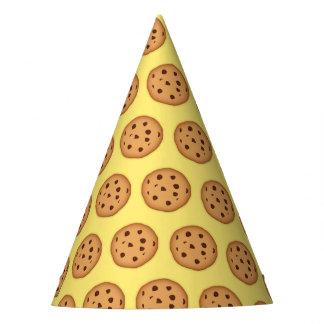 Chapeaux De Fètes Motif de gâteau aux pépites de chocolat