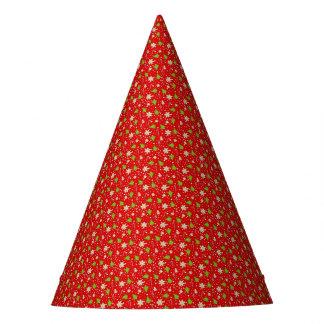 Chapeaux De Fètes Motif de Noël de biscuits de gingembre
