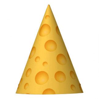 Chapeaux De Fètes Motif jaune de fromage