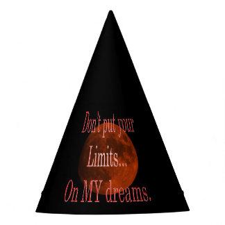 Chapeaux De Fètes Ne mettez pas vos limites sur mes rêves