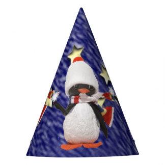 Chapeaux De Fètes Paradis adorable de Noël d'ornement de pingouin