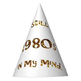 Chapeaux De Fètes parties scintillantes d'or de nostalgie des années