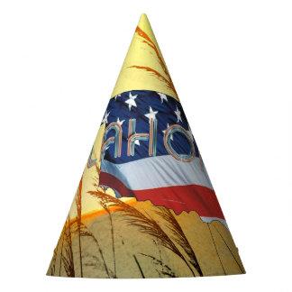 Chapeaux De Fètes Patriote de l'Oklahoma de PIÈCE EN T