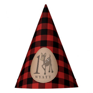Chapeaux De Fètes Plaid de cerfs communs de casquette de Wyatt