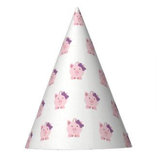 Chapeaux De Fètes Porc mignon de fille