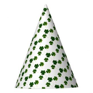 Chapeaux De Fètes Trèfle irlandais vert St Patrick de trinité