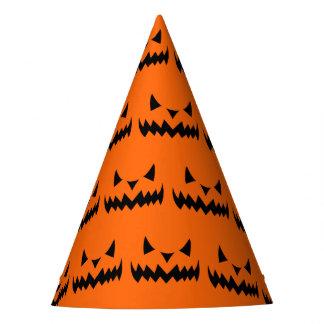 Chapeaux De Fètes Visage mauvais Sihouet de citrouille de Halloween