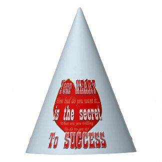 Chapeaux De Fètes Votre coeur est le secret au succès