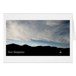 Chapelle du New Hampshire Wonalancet Carte De Vœux